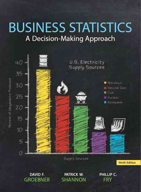 Business Statistics By Groebner, David F./ Shannon, Patrick W./ Fry, Phillip C./ Smith, Kent D.